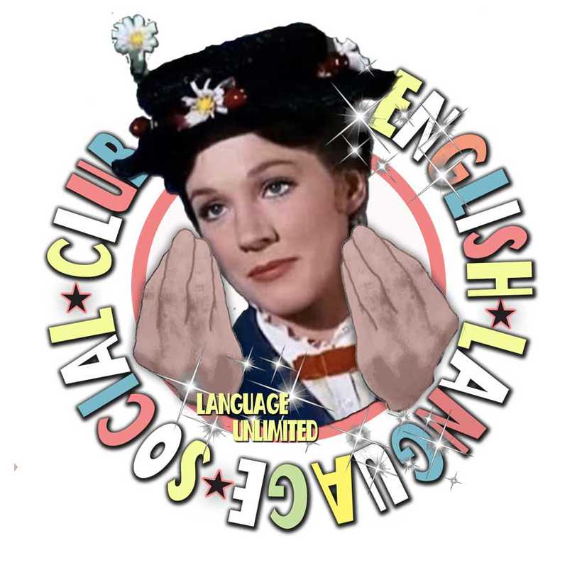 Language Unlimited's English Language Social Club graphic and logo