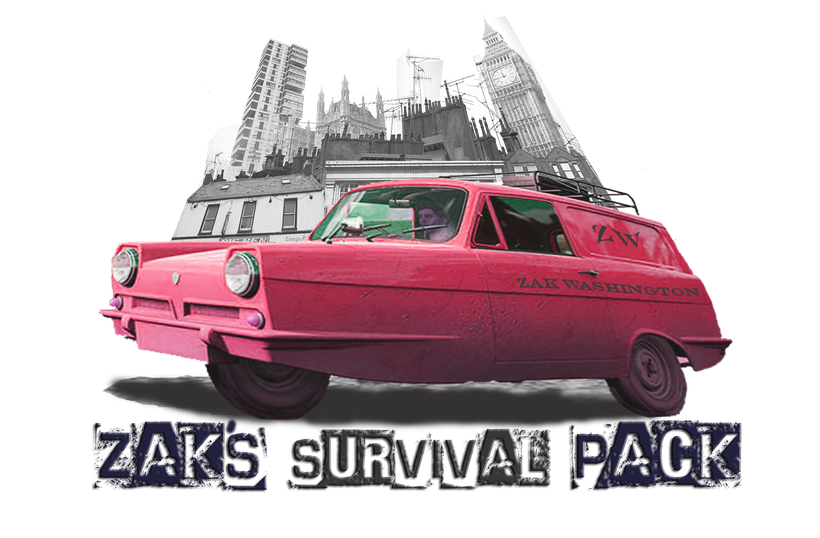 Zak's Survival Pack - English language guide - Free course