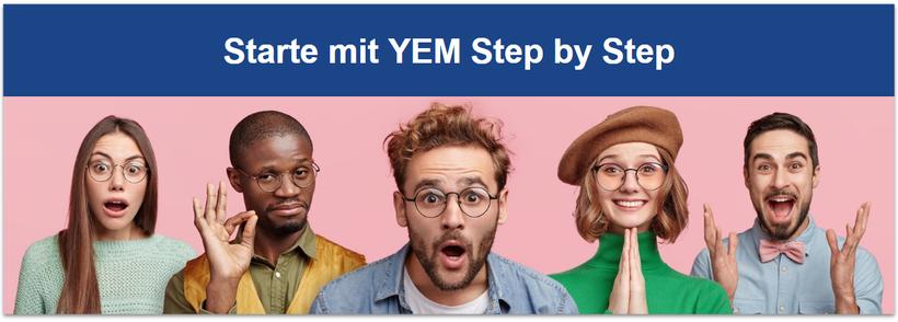 Starte mit YEM Step by Step - Rainbow Currency