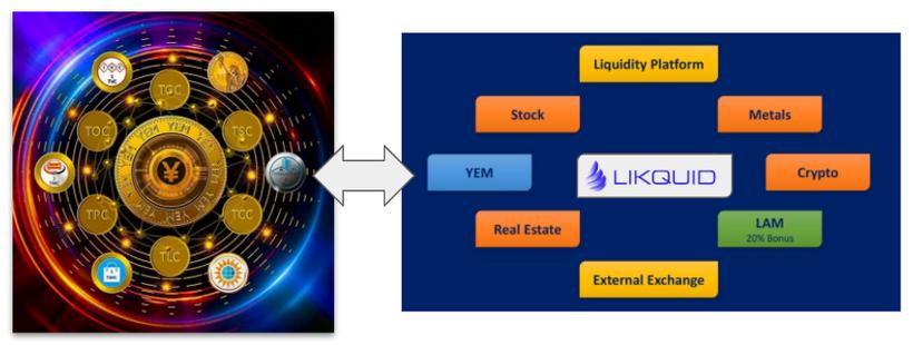 Likquid Coin, LAM Asset Management, YEM Investment, Dual Listing, LQI