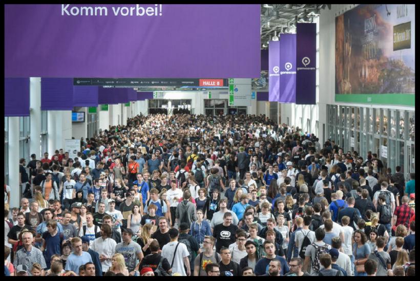 Informationen für Besucher der gamescom 2018
