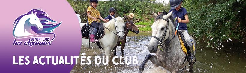 Les actualités du poney-club Du vent dans les chevaux