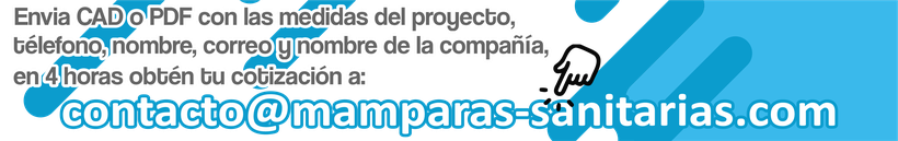Mamparas sanitarias Tepexpan