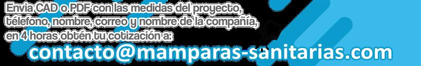 Mamparas sanitarias Chalco