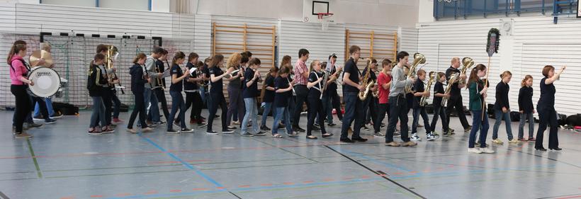 Marschprobe Jugendblasorchester Ampertal