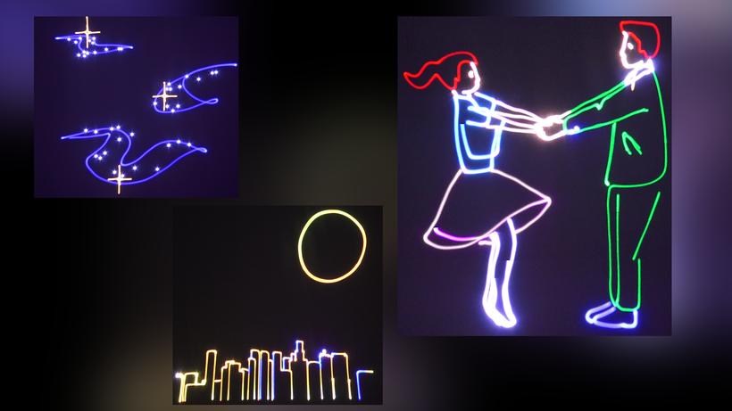 Eine eigene Lasershow ist immer noch am Persönlichsten.