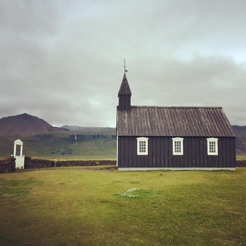 The Black Church at Búðakirkja, Iceland. Instagram photo credit: @jonas_muc