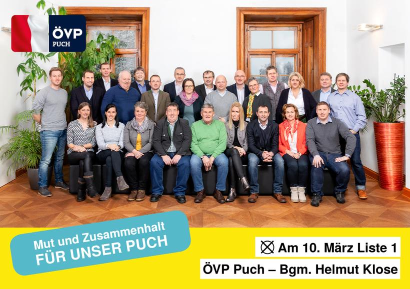 ÖVP Puch - pro!PUCH: Mut & Zusammenhalt