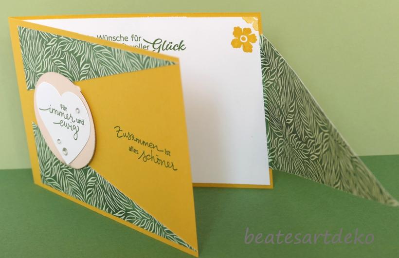 Projekt 1 : Fun Fold Card - Teil 2