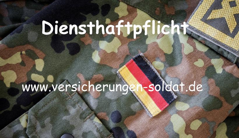 Die Diensthaftpflicht Versicherung für den Zeitsoldaten und Berufssoldaten der Bundeswehr. Diensthaftpflicht Risiken absichern.
