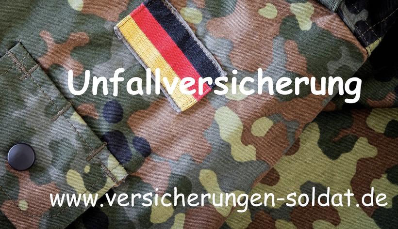 Die Unfallversicherung für Soldaten der Bundeswehr. Versicherungen für Zeitsoldaten und Berufssoldaten.