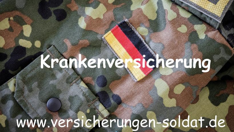 Pflegepflichtversicherung und Anwartschaftsversicherung für Zeitsoldaten und Berufssoldaten der Bundeswehr