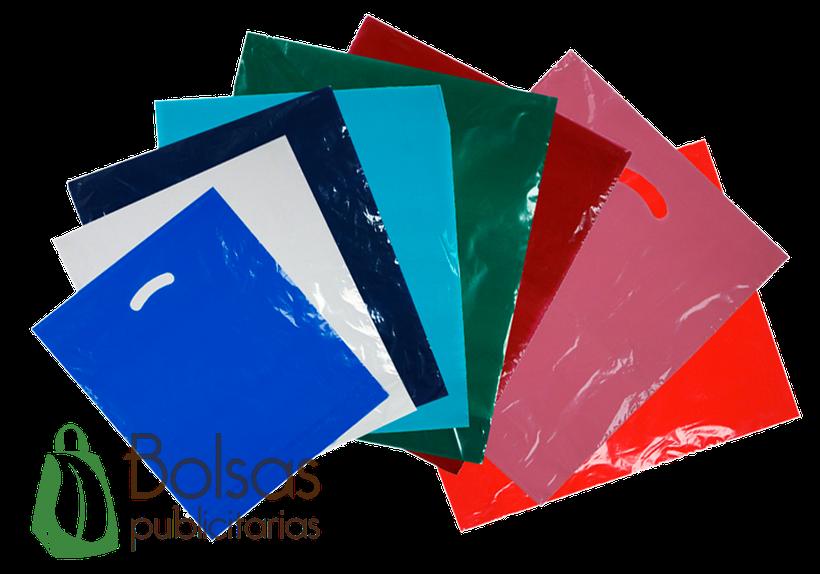 Bolsa de Plástico con Asa Suajada