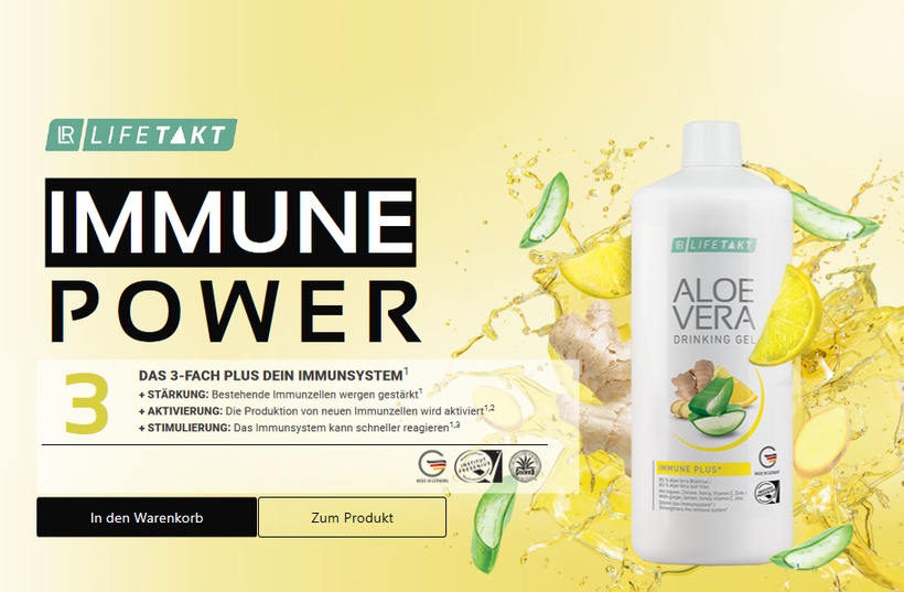 Aloe Vera Gel Immune