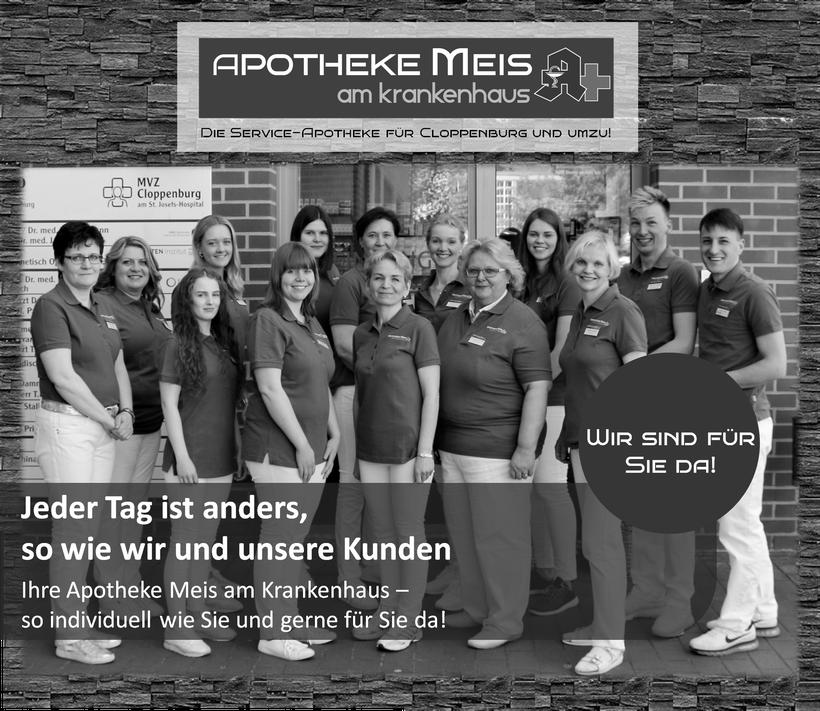 Apotheke Meis am Krankenhaus Cloppenburg Team Mitarbeiter