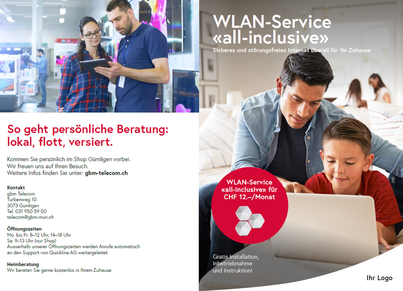 WLAN Service Flyer