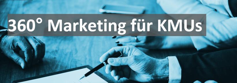 360 grad Marketing für KMU