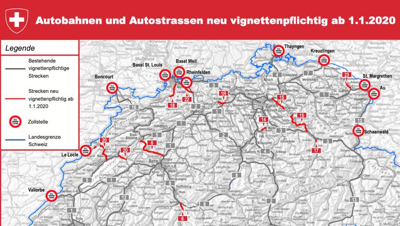 Autobahnen Schweiz