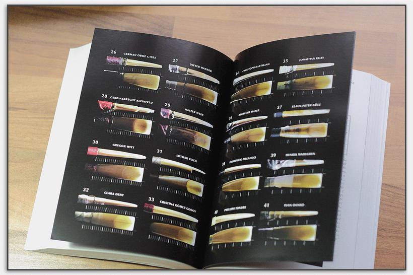 Über 100 Rohre von bedeutenden Oboisten hat Graham Salter fotografiert und vermessen.