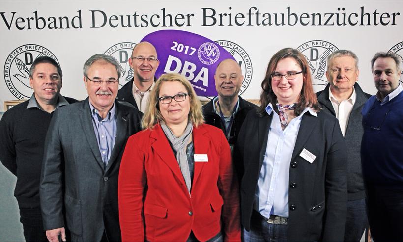 Stand 01.2018: Harald Herbach, Willi Hertel, Gerwin Basch, Cornelia Appuhn, Harald  Klusak,  Mareike Kühntopp,  Michael Mahr, Franz Josef Page