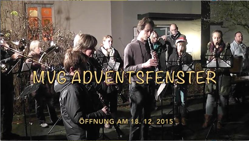 Öffnung des Adventsfensters am 18.12.2015