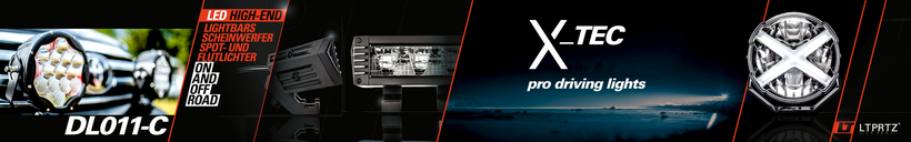 UltraLux LED Fernscheinwerfer DL011-C Kombo ECE