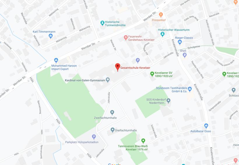 Link zu Google Maps (Bildquelle: Google Maps)