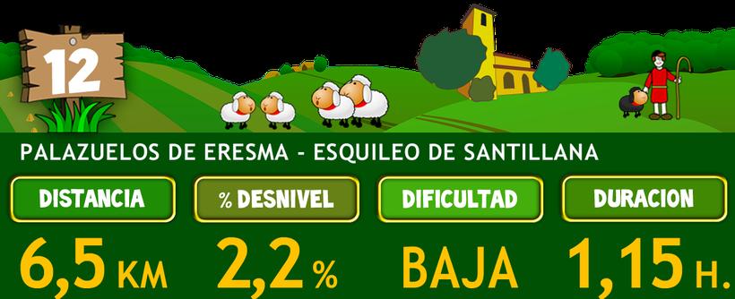 Ruta del Esquileo. Tramo 12: Palazuelos de Eresma - Esquileo de Santillana
