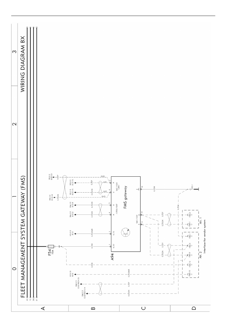 Volvo Fm Truck Wiring Diagrams Car Electrical Wiring Diagram