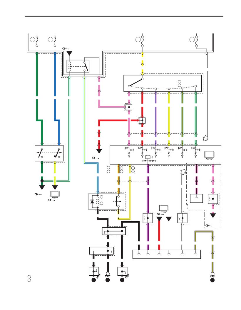 Suzuki Grand Vitara Wiring Diagrams