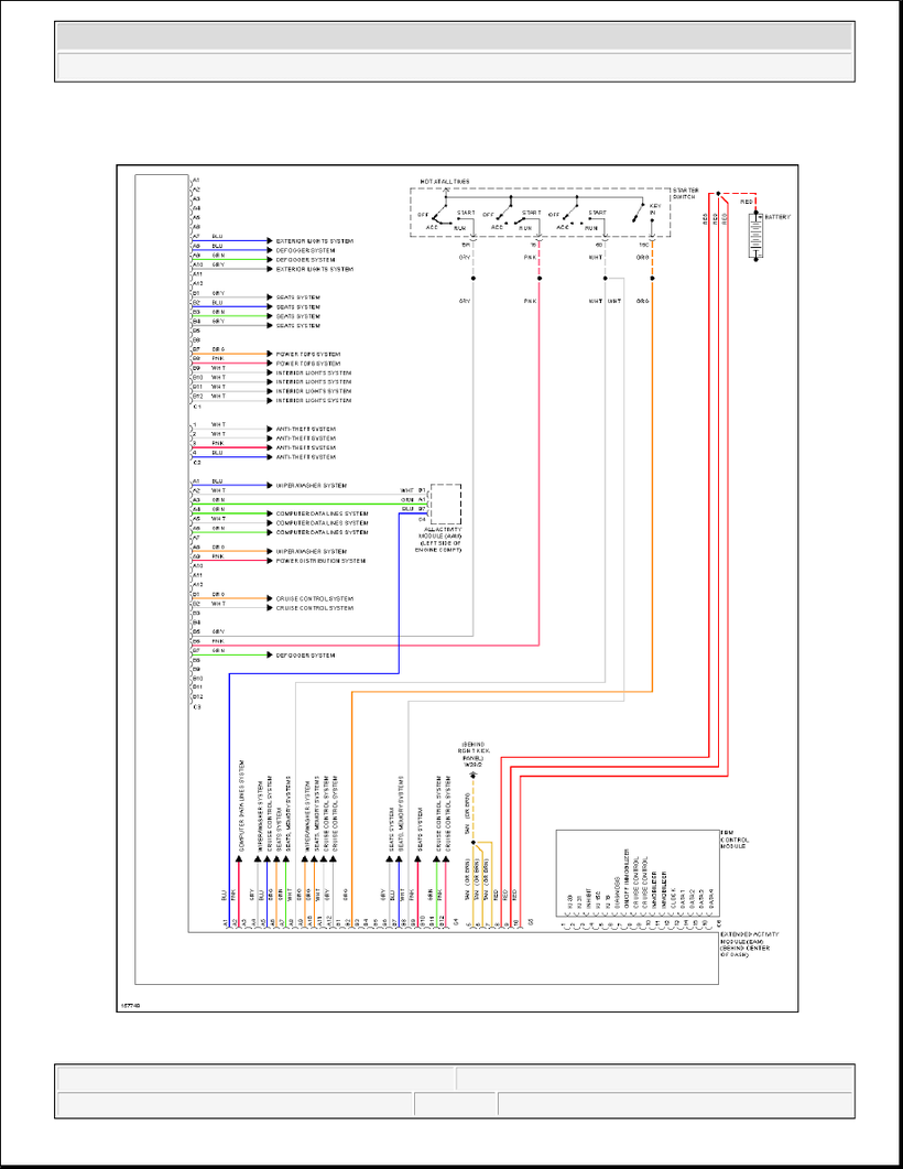 MERCEDES ML320 W163 Wiring Diagrams - Car Electrical Wiring ... on