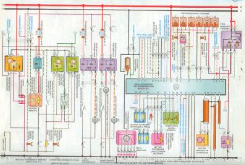Opel Omega Wiring Diagrams