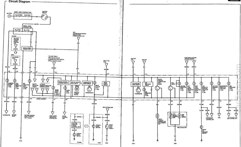 ACURA VIGOR EWD, Fuses & Relay - Car Electrical Wiring DiagramCar Electrical Wiring Diagram - Jimdo