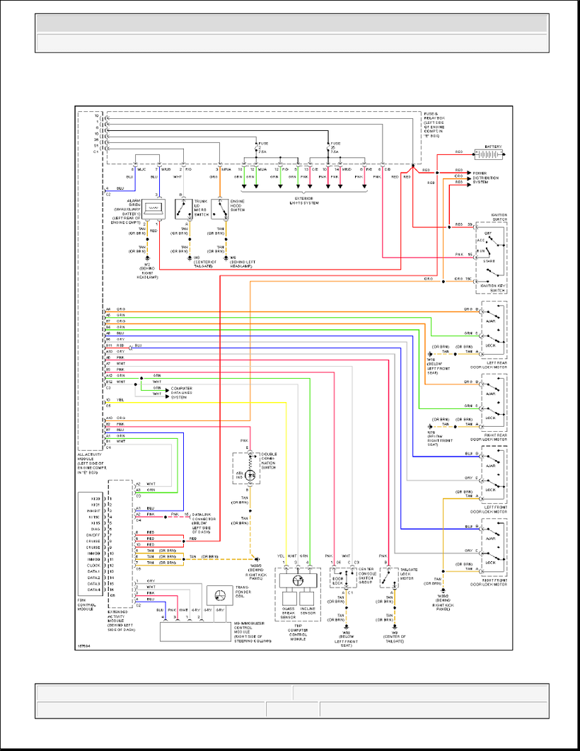 MERCEDES ML320 W163 Wiring Diagrams - Car Electrical Wiring ... on