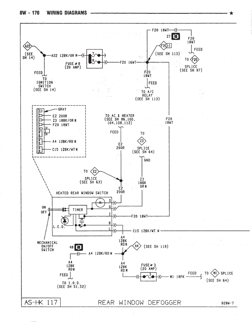Chrysler Town Country Wiring Diagrams Car Electrical Wiring Diagram