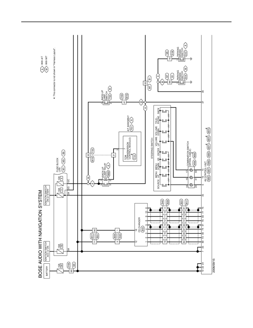 G37 AV Control Unit Wiring Diagram