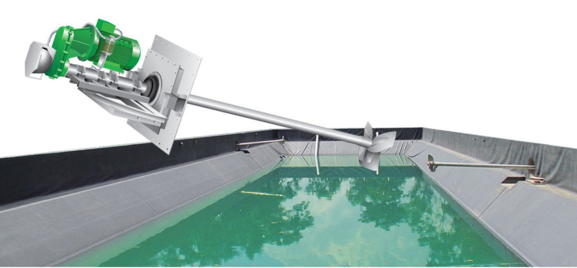 CSTR lagoon digester - Aqualimpia