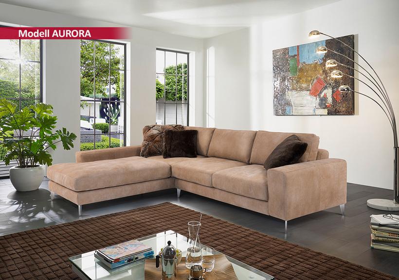 SEDDA Sitzgarnitur Athena / Aurora - Topsofa Möbel zu Spitzenpreisen
