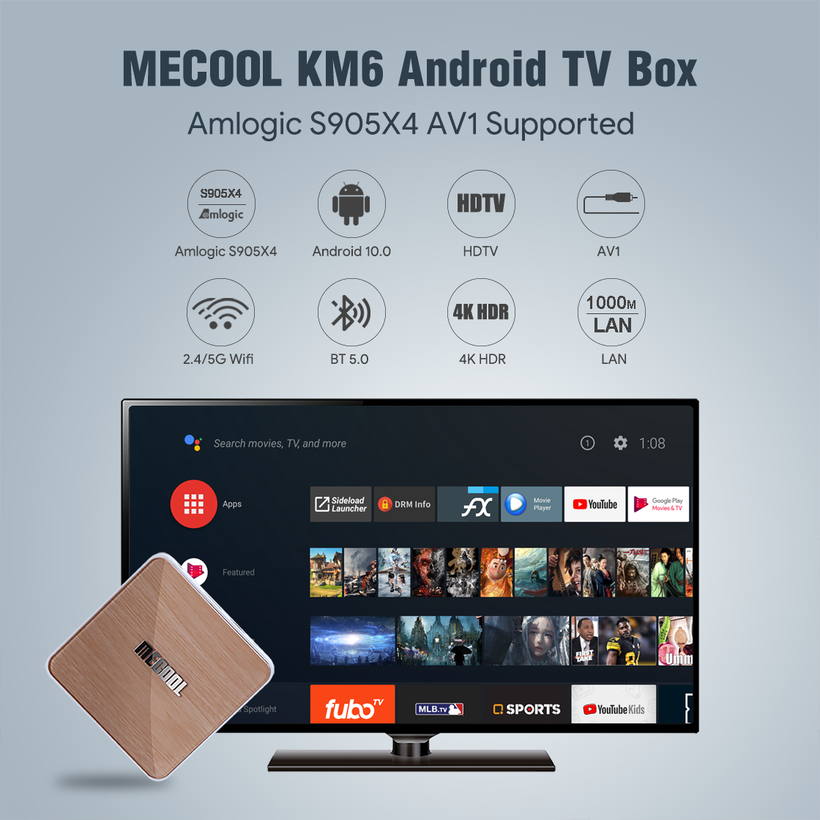 Mecool KM6 Android TV