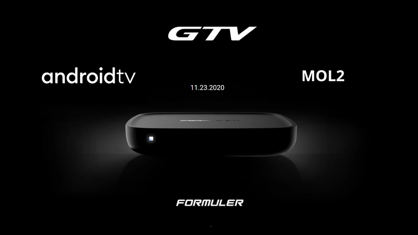 Formuler GTV Android TV MOL2