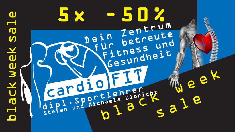 cardioFIT Fittnessstudio st pölten - black week sale