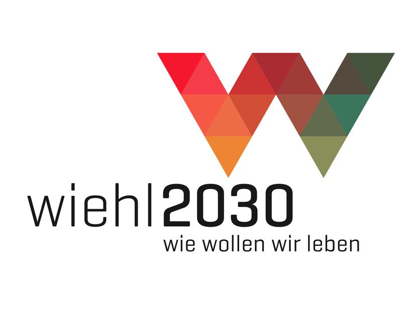 Logo wiehl2030 | Nicht realisierter Entwurf für ein Strategiekonzept der Stadt Wiehl