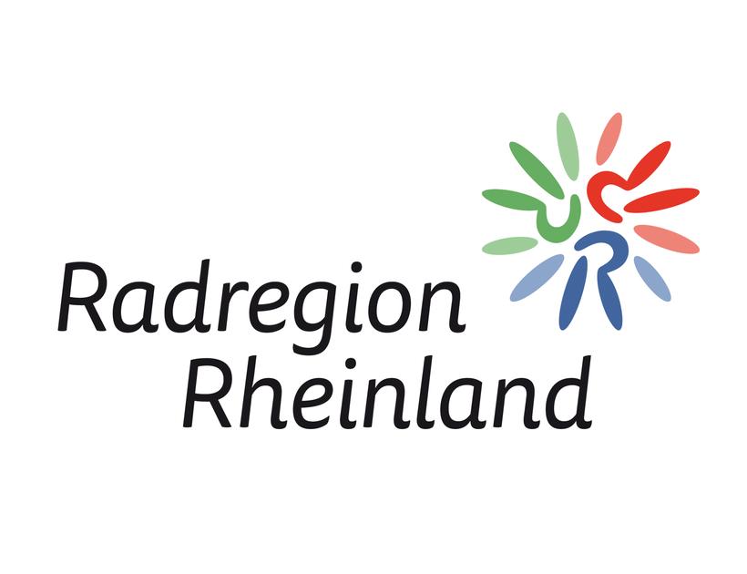 Logo Radregion Rheinland e.V. | Logoüberarbeitung für den Radregion Rheinland e.V., ein Zusammenschluss der Gebietskörperschaften in der Region Köln/Bonn | www.radregionrheinland.de