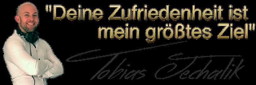 Unterschrift Hochzeits- und Event DJ Tobias Jechalik