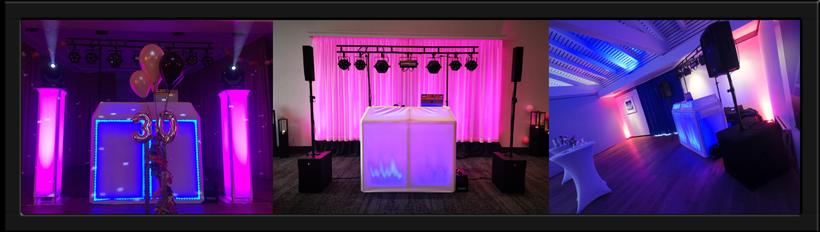 DJ Technikpakete / Silber / Gold / Platin / Hochzeiten / Geburtstage / Firmenfeiern