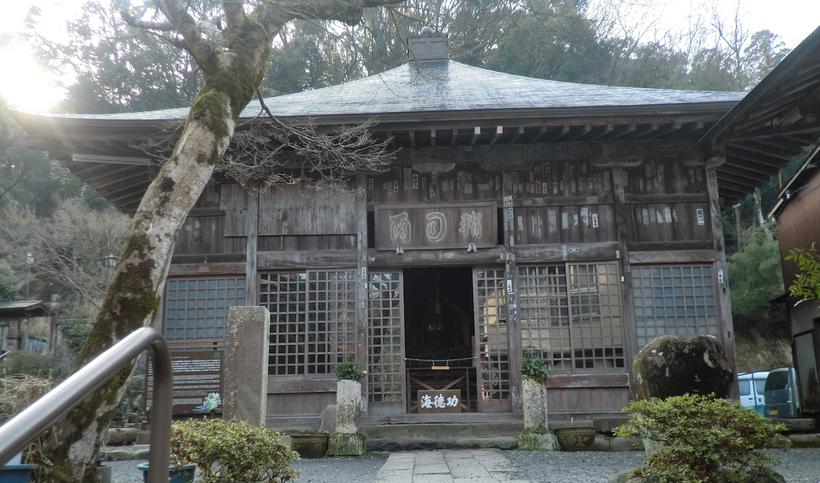 指月堂 北条政子が嫡男頼家の冥福を祈って建立した、伊豆最古の木造建築と言われています。