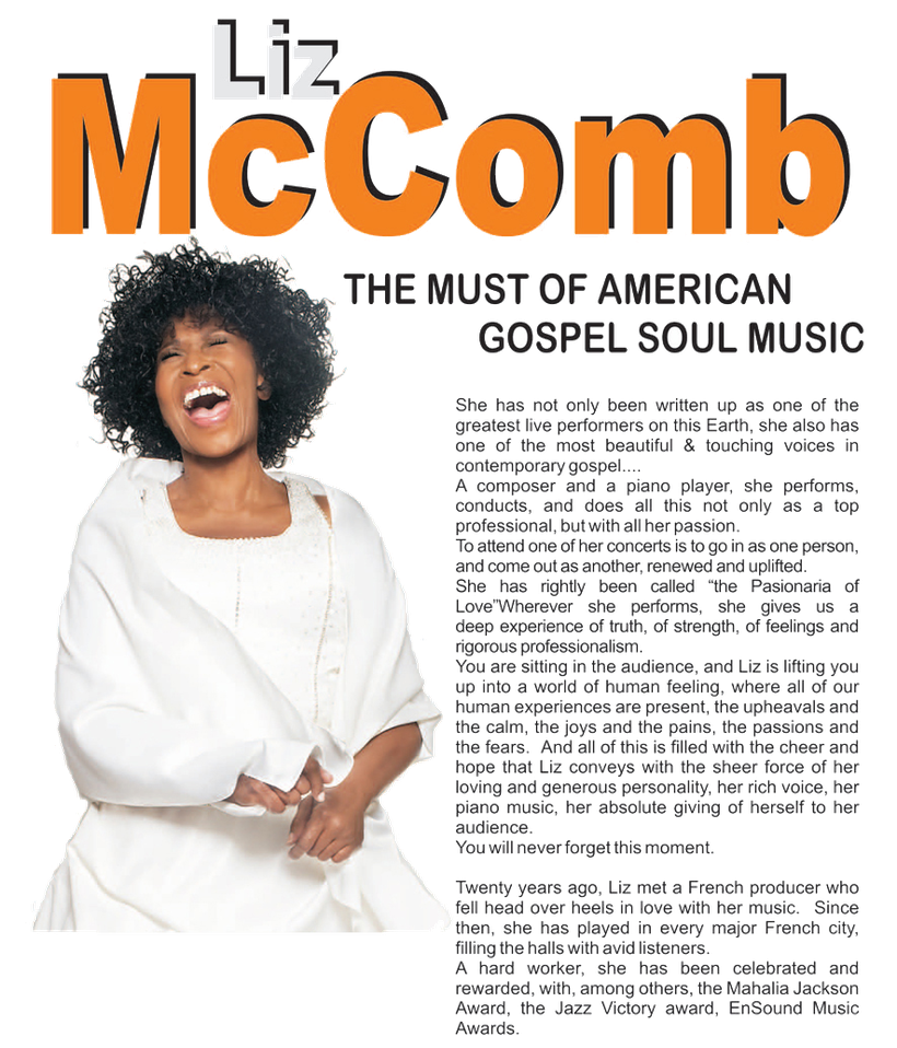 the Funky Soul story - biography LizMcComb