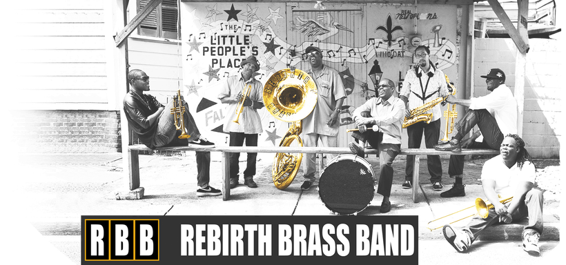 the Funky Soul story - Rebirth Brass Band header