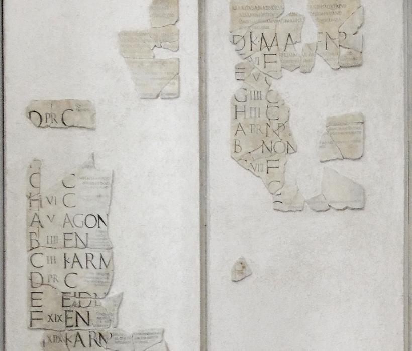 Calendario Romano.Come Leggere Il Calendario Romano Benvenuti Su Admaioravertite
