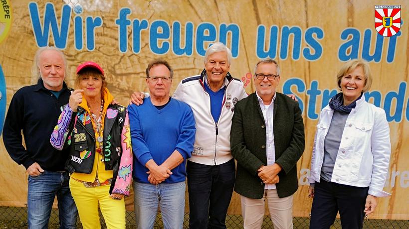 Vorstand 2020 von links: Martin Boller, Rose Porombka, Michael Jung, Gerardo Baumbach, Hartmut Wildfang und Sigrid Westphal